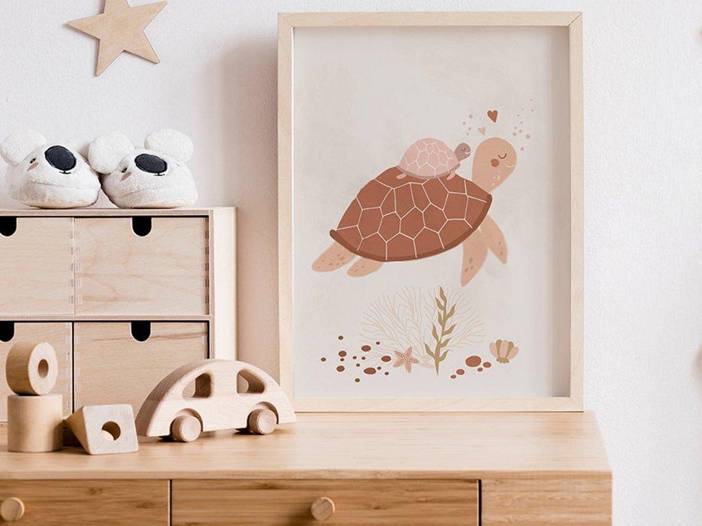 Des teintes de terre dans la chambre d'enfant - Joli Place