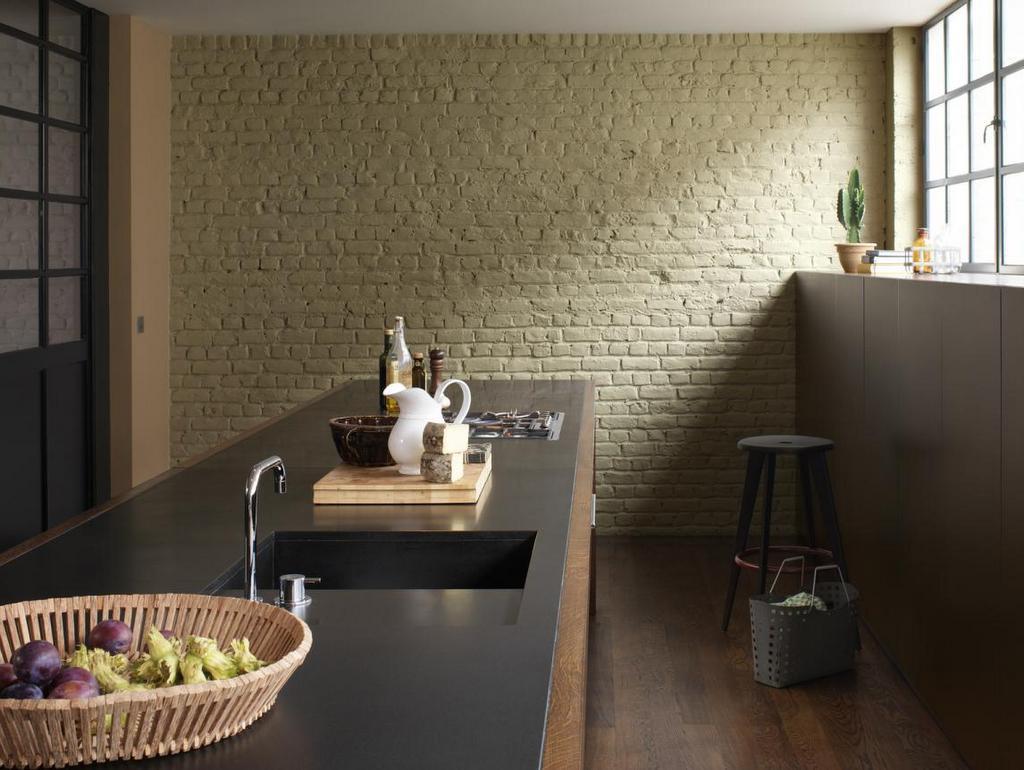 Du vert olive dans la cuisine - Joli Place