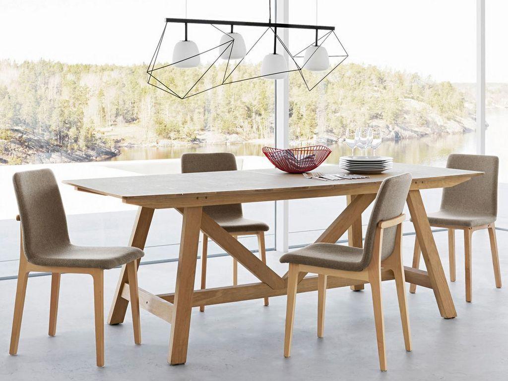 table design allonges en bois