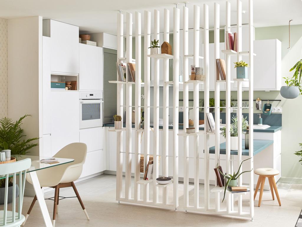 Un claustra intérieur pour diviser l'espace - Joli Place