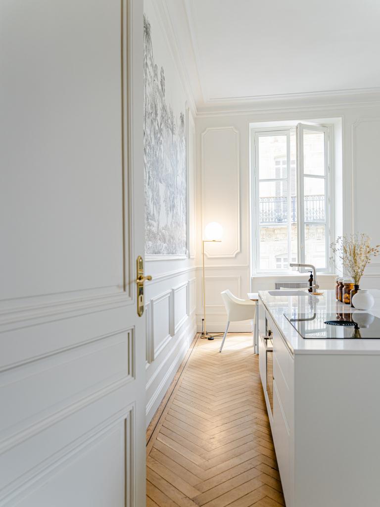 Un appartement haussmannien épuré à Bordeaux - Joli Place