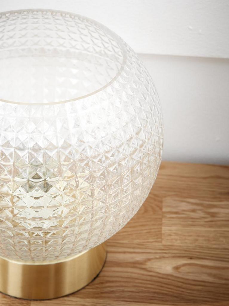 Des lampes et appliques en verre texturé - Joli Place