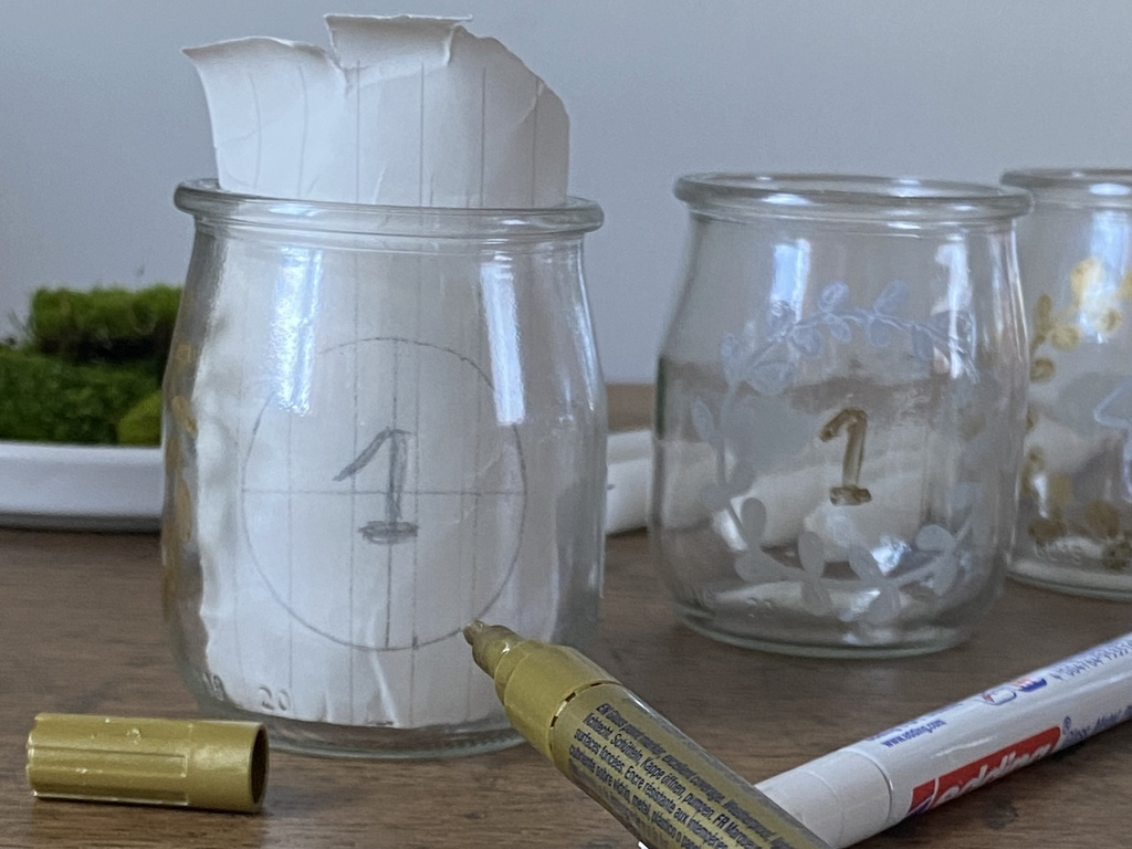 DIY bougeoir de l'Avent - Joli Place