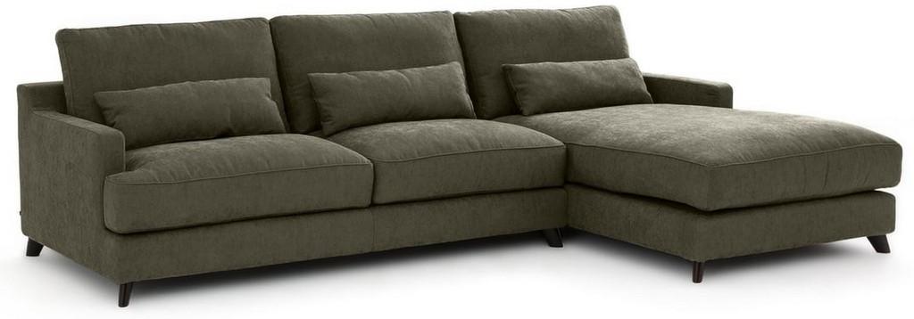 canapé d'angle kaki