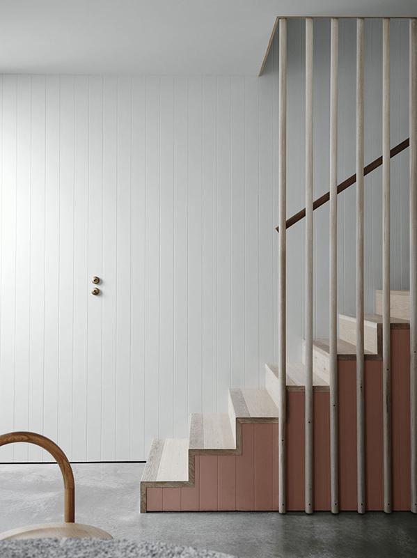 déco tasseaux escalier