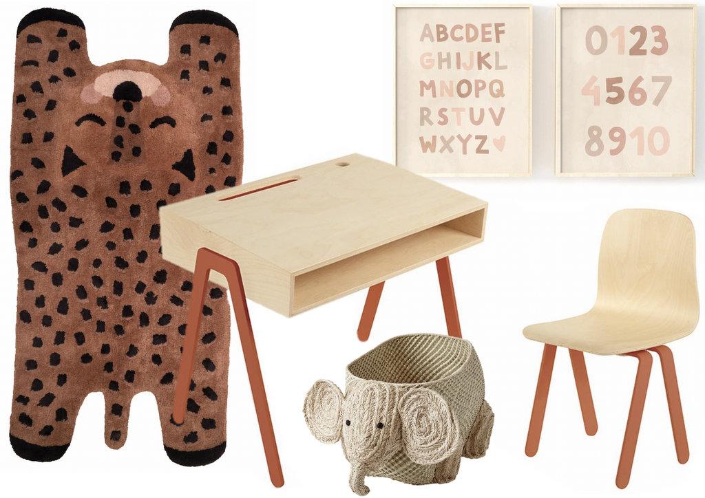 Décoration enfant terracotta - Joli Place