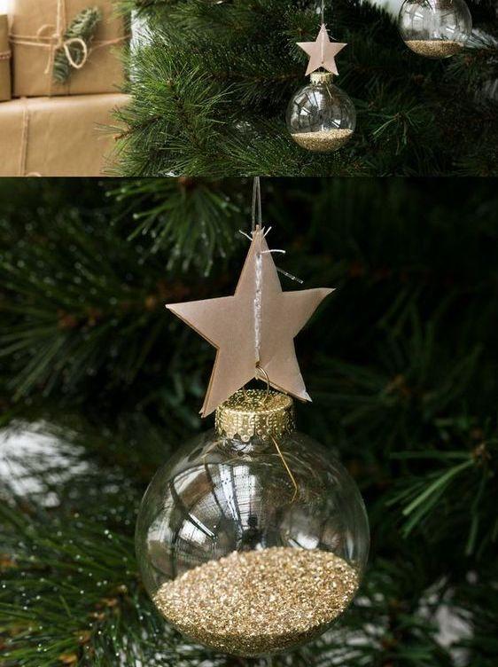 décoration sapin