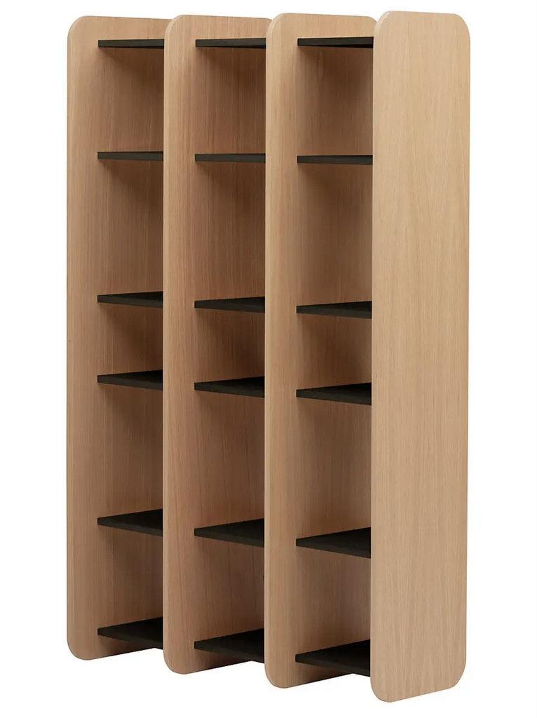 bibliothèque design en bois