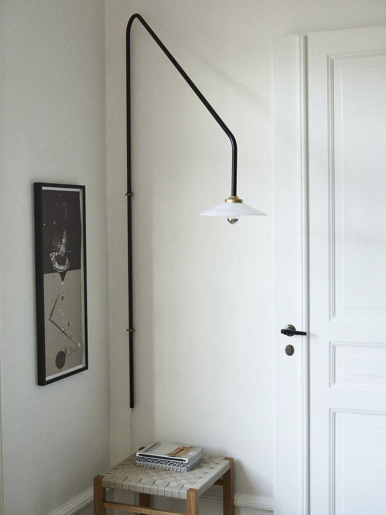 lampe potence murale entrée