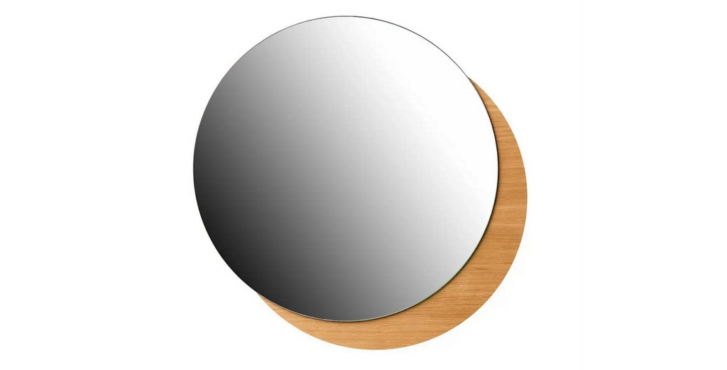 miroir design rond