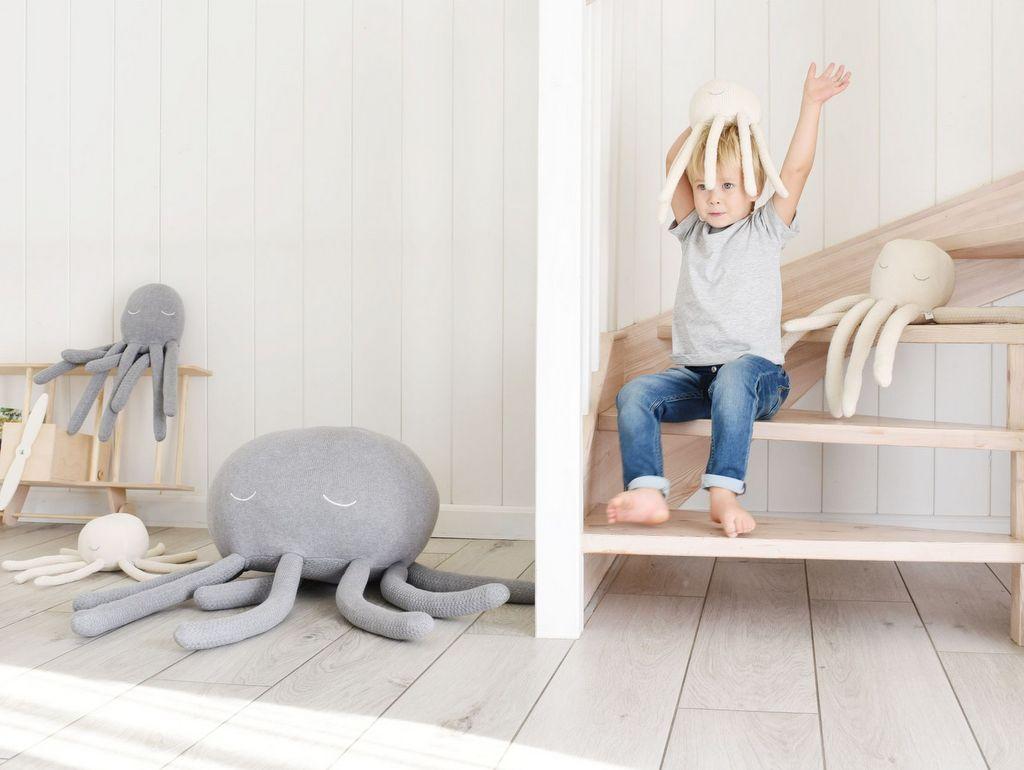 pouf pieuvre