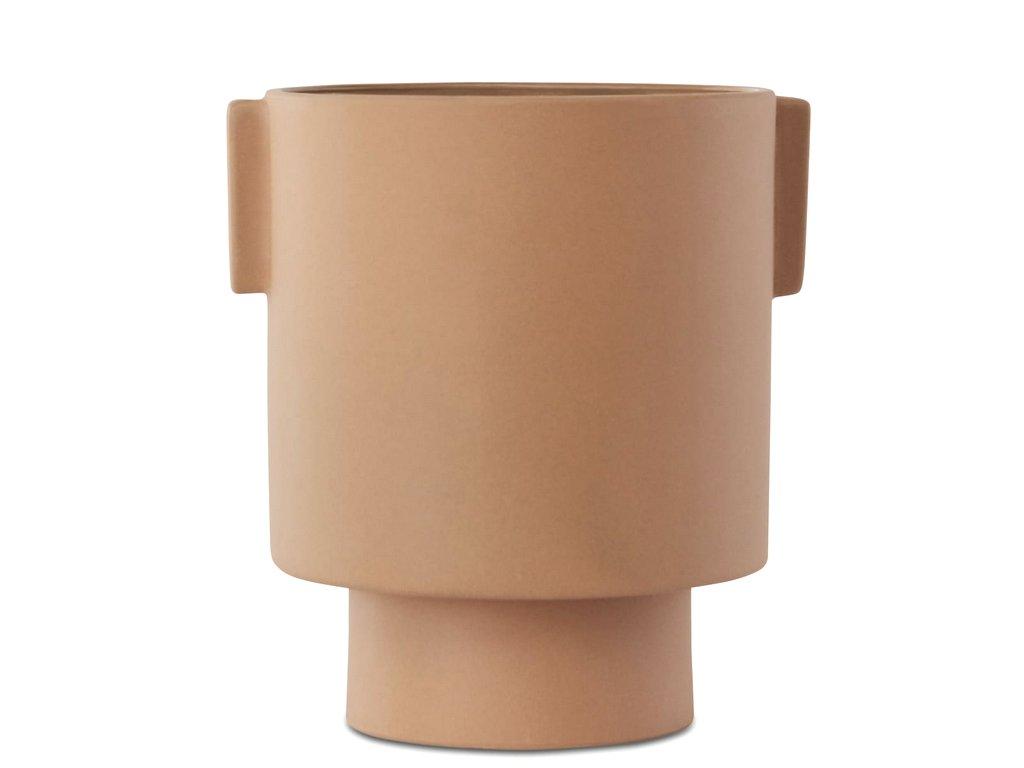 cache-pot design terracotta