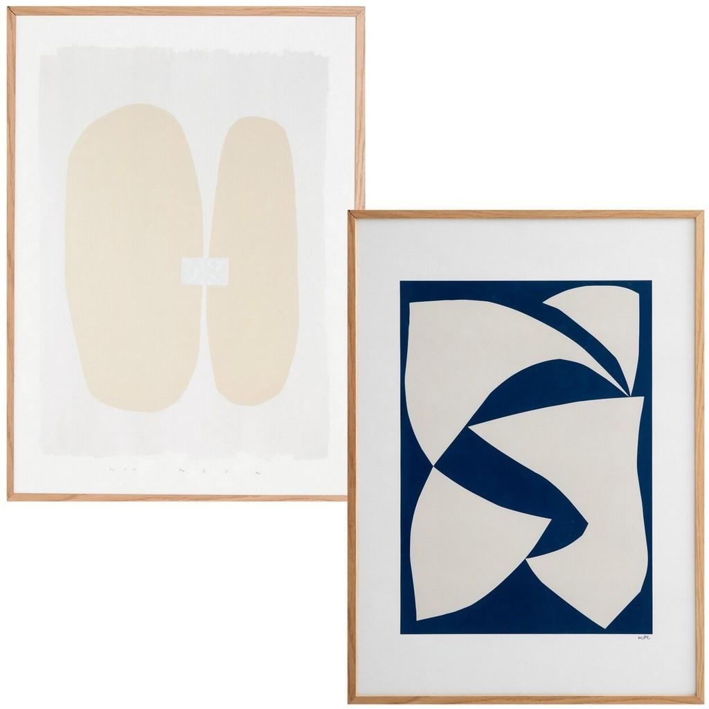 affiche arty géométrique