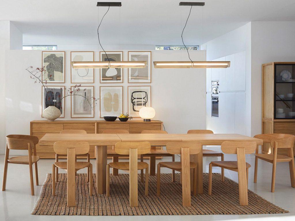 salle à manger design bois
