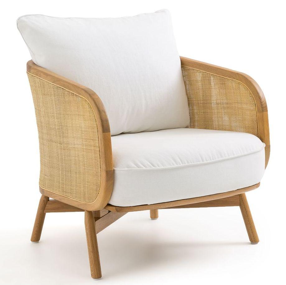fauteuil design cannage