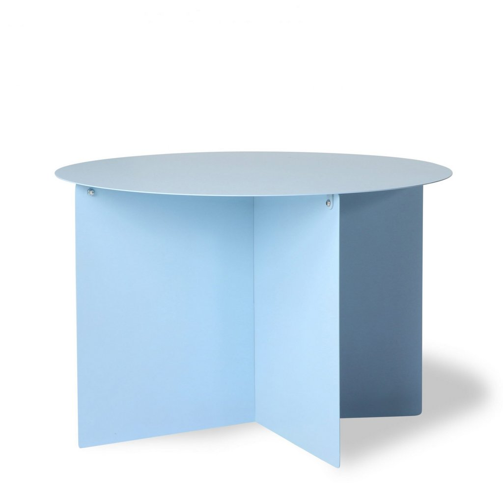 table basse bleu ciel