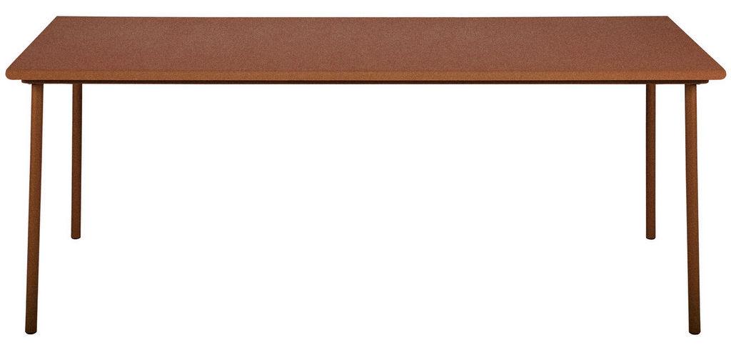 table de jardin terracotta