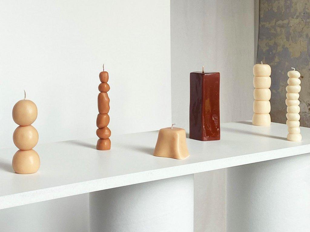 bougie sculpture ann vincent