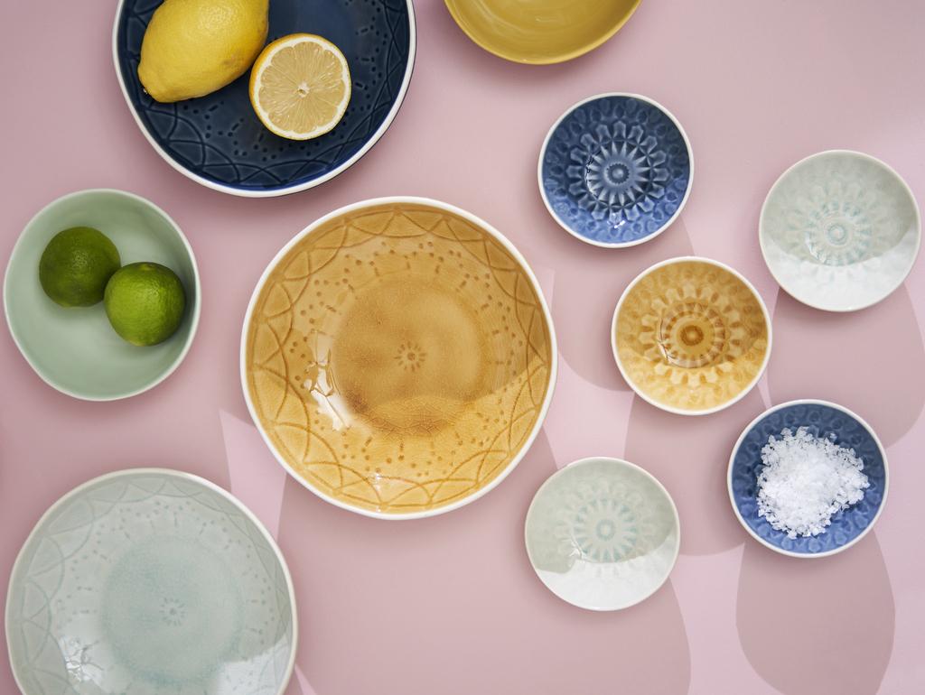service vaisselle pastel