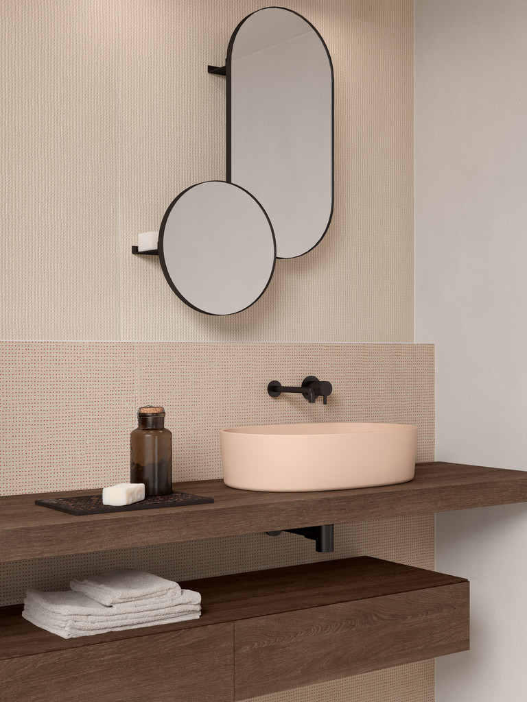lavabo couleur beige