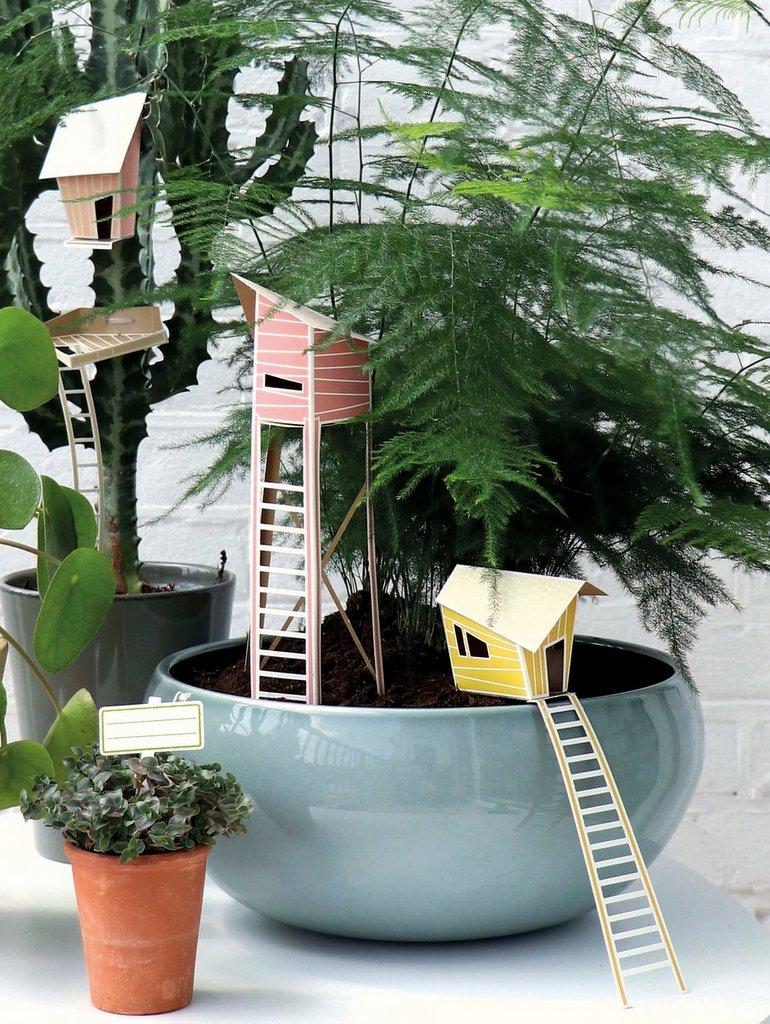 village pour plantes vertes