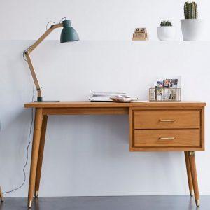 bureau vintage bois