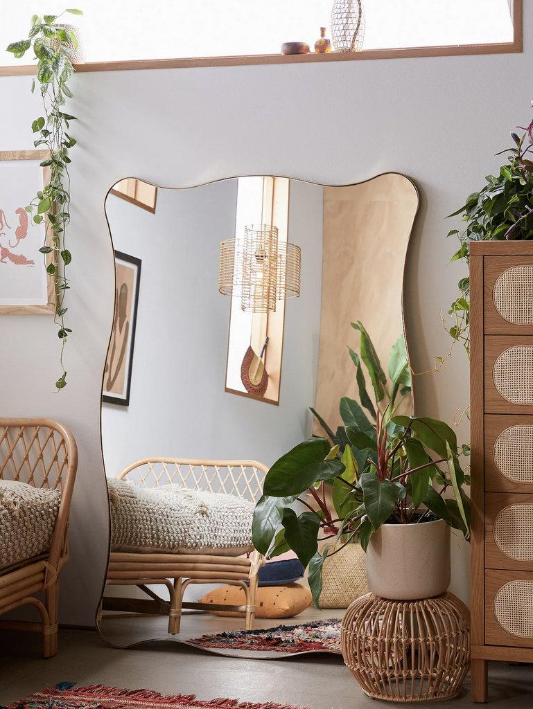 miroir style brocante