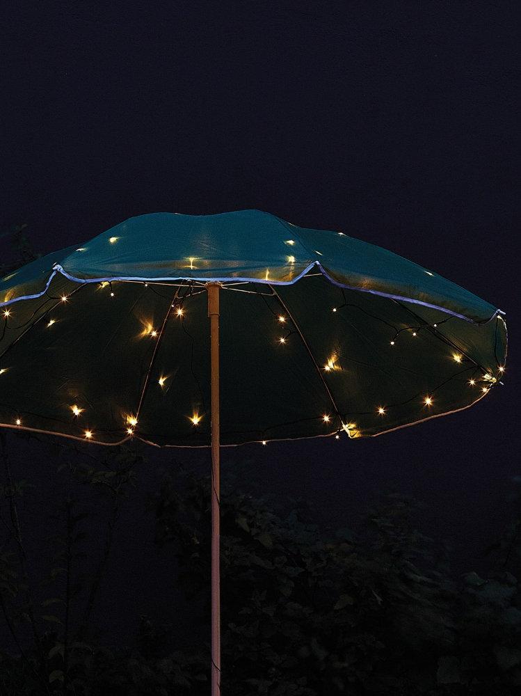 guirlande lumineuse parasol