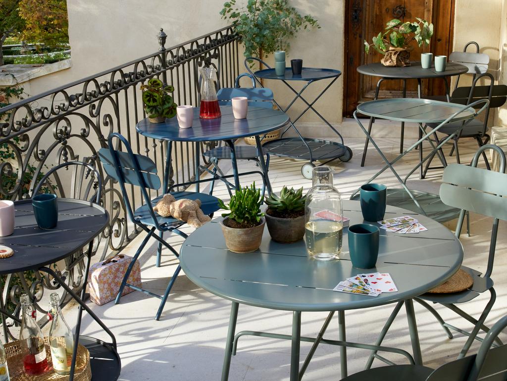 table balcon métal