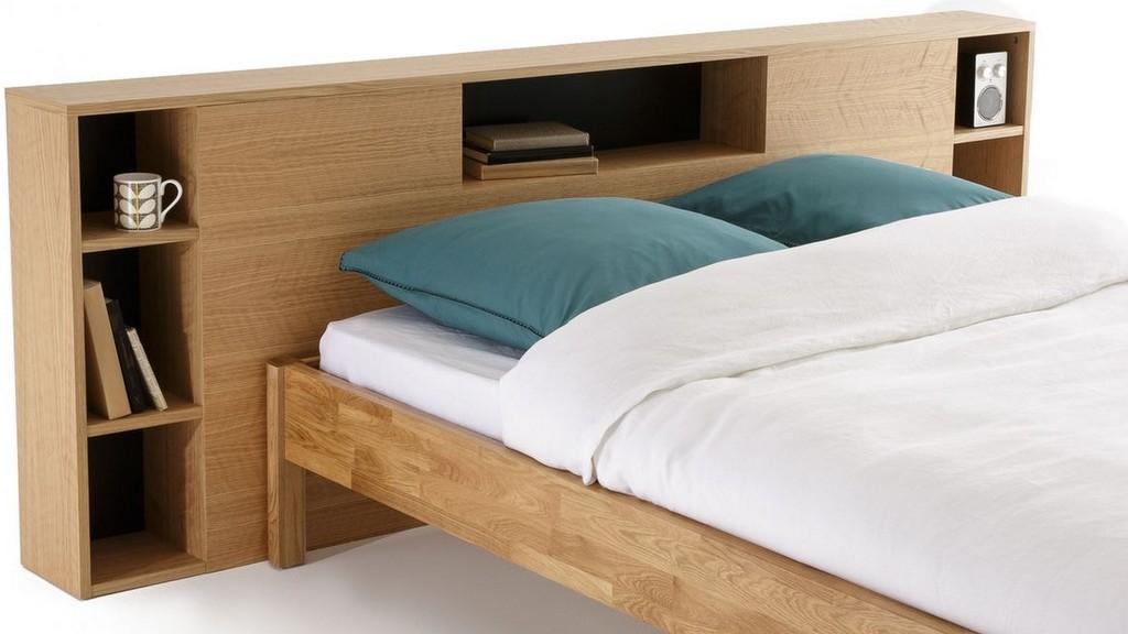tête de lit avec rangements