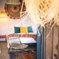 chambre ethnique chic colorée