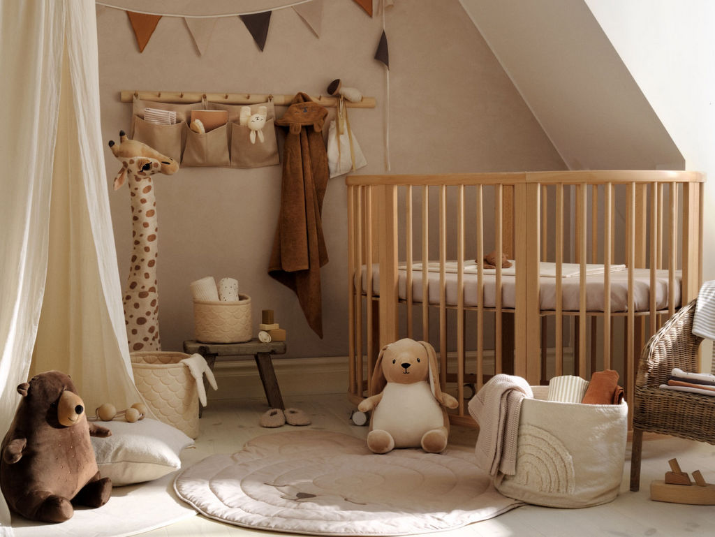 chambre bébé couleur caramel