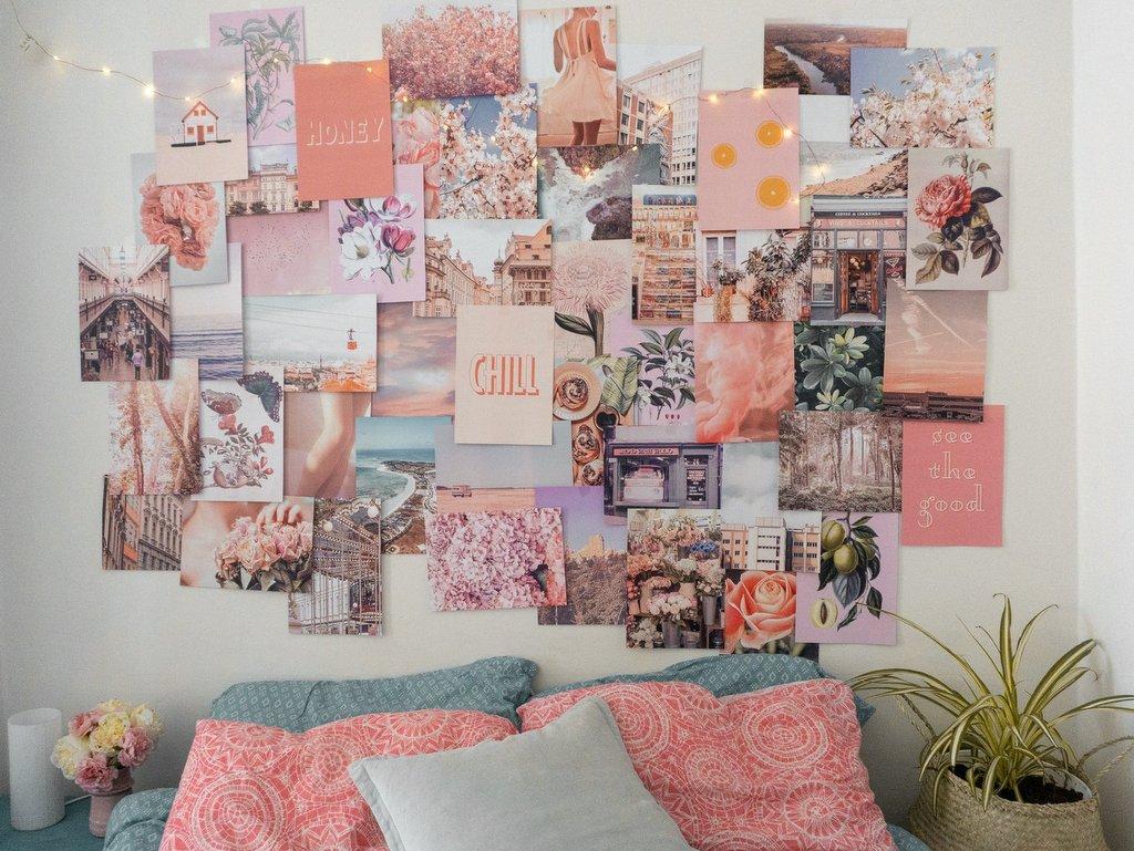 kit de collage mural