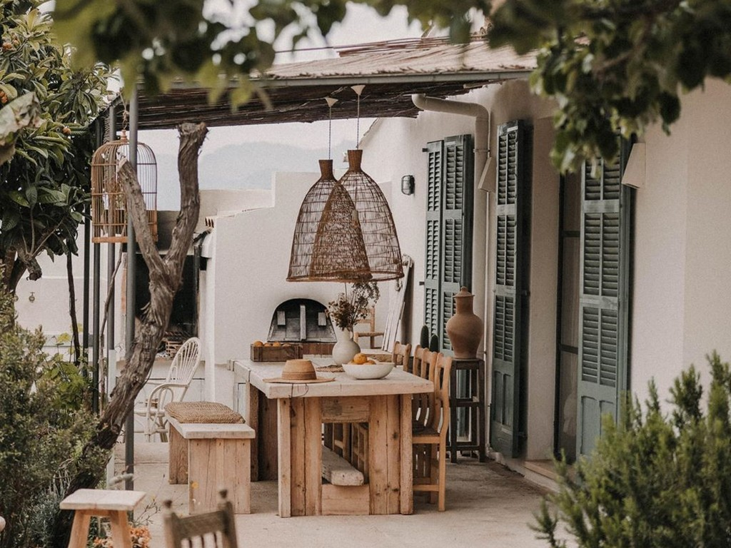 terrasse maison mallorque