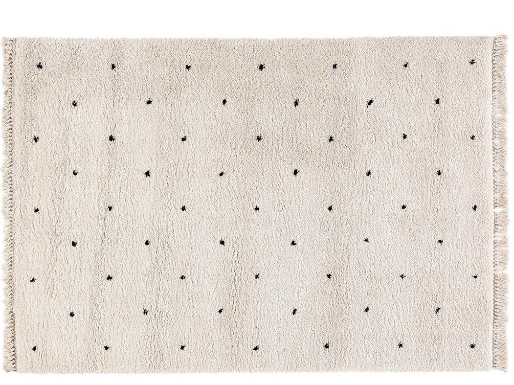 tapis berbère à pois