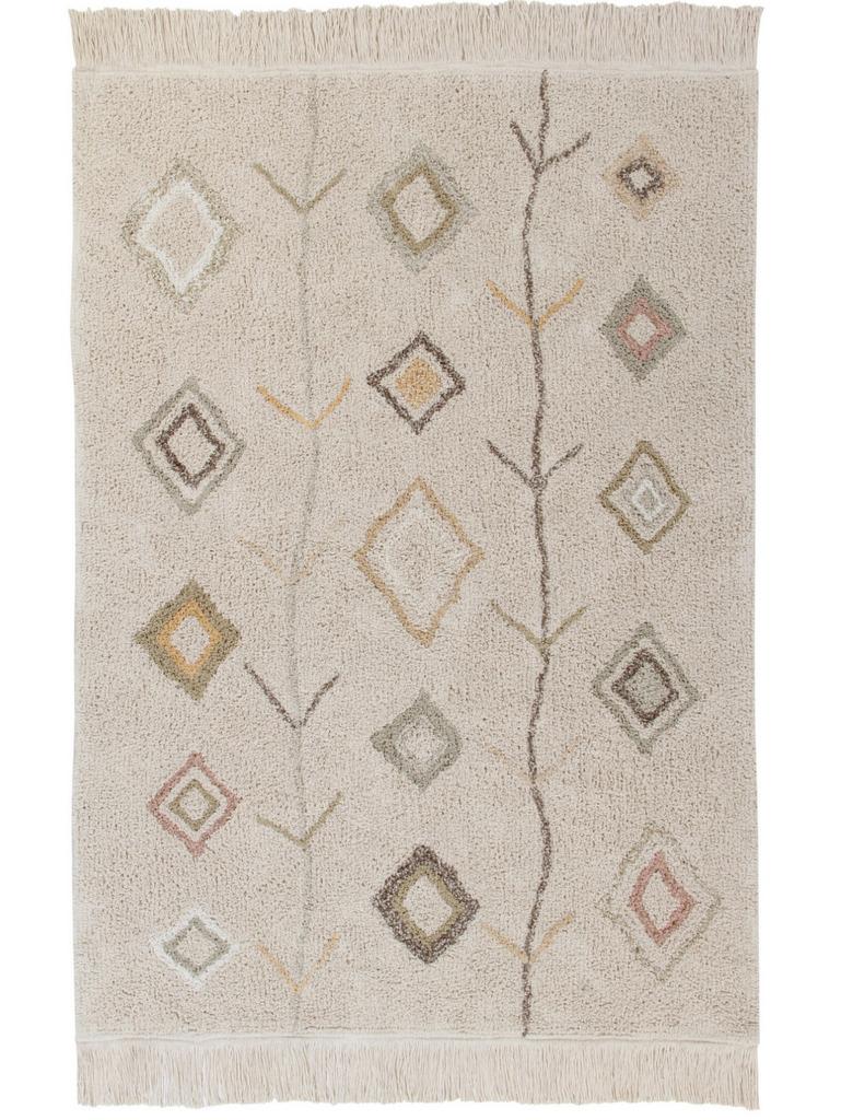 tapis berbère pastel