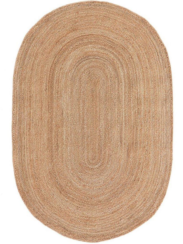 tapis ovale en jute