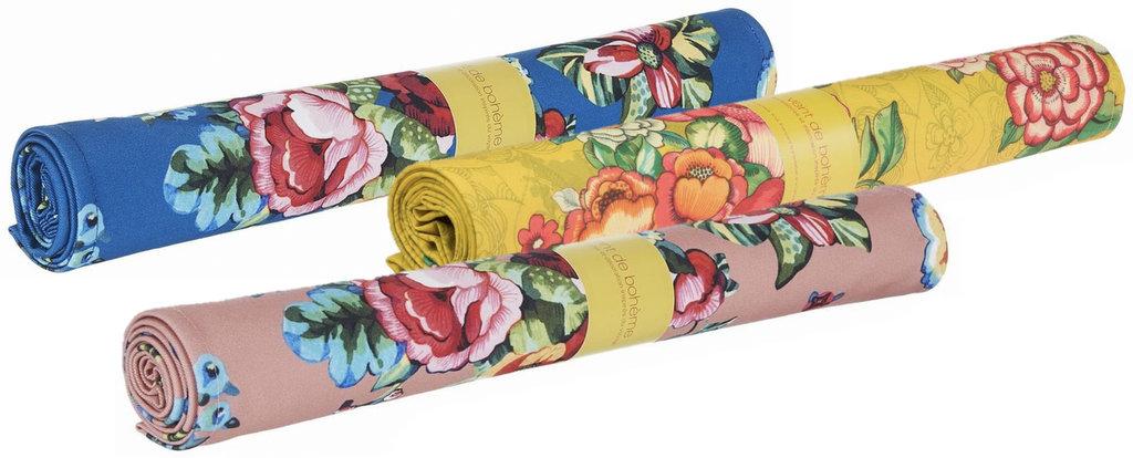 toile de transat fleurie vent de bohème