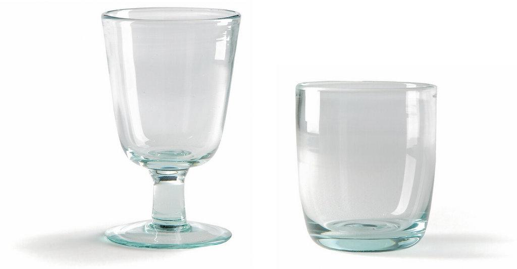 verre vert d'eau