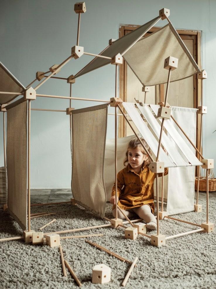 jeu construction cabane