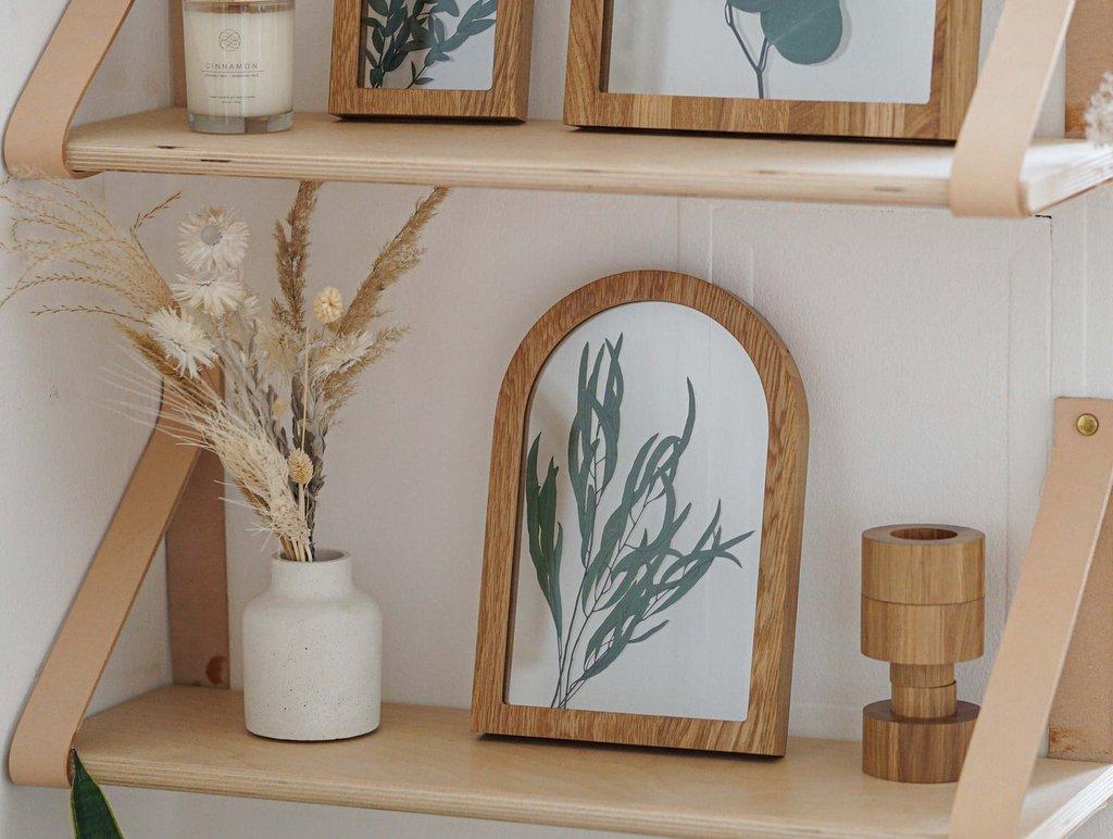 Herbier en bois arche