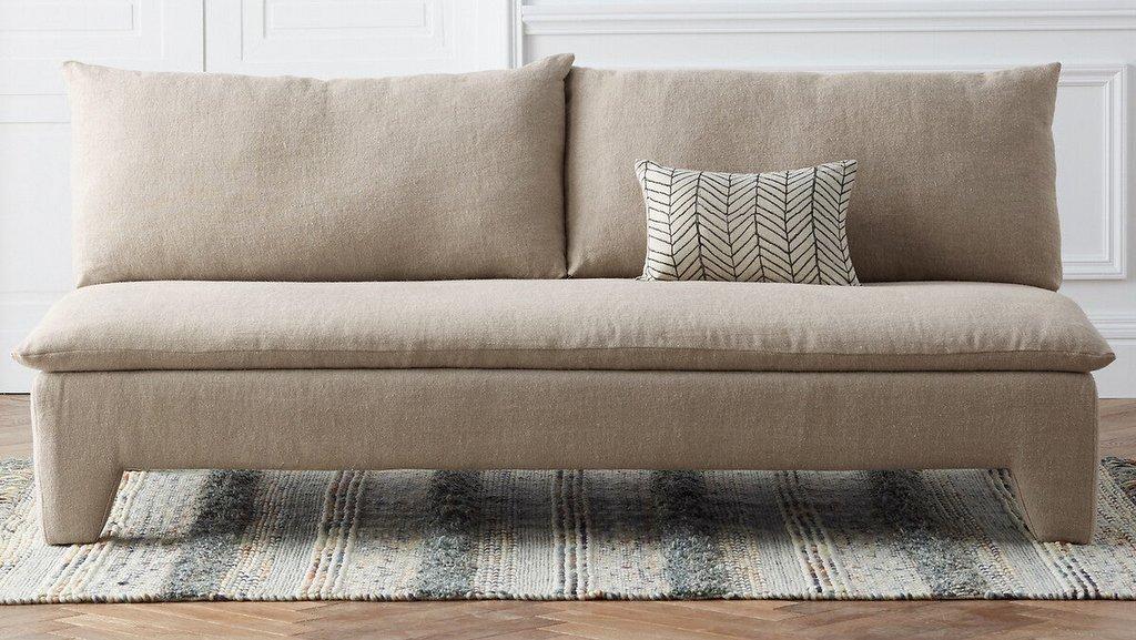 canapé design beige