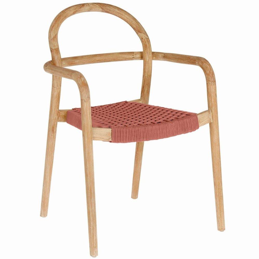 chaise de jardin terracotta