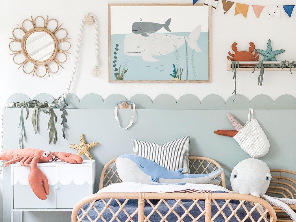 chambre enfant thème mer