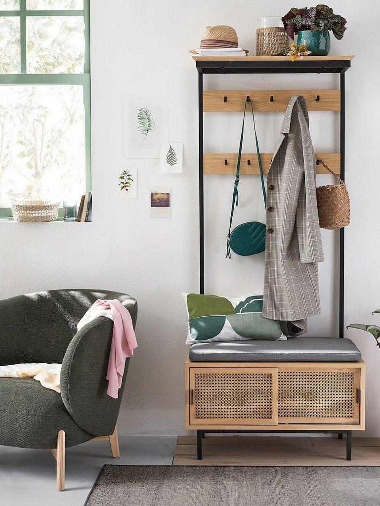 décoration entrée maison vert