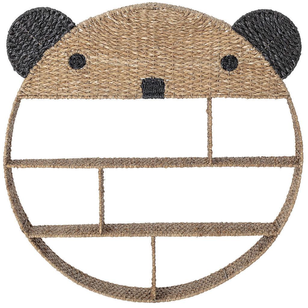 étagère murale ronde panda