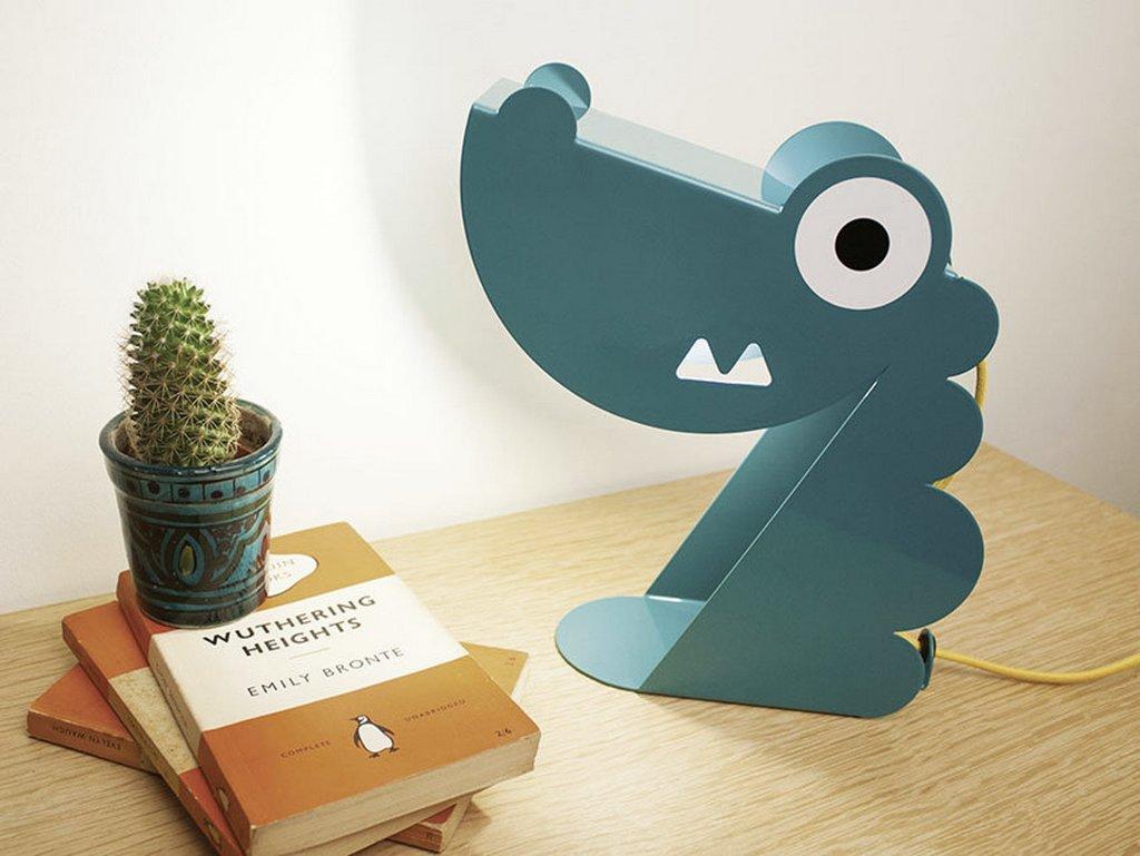 lampe dragon bleu enfant bleu carmin