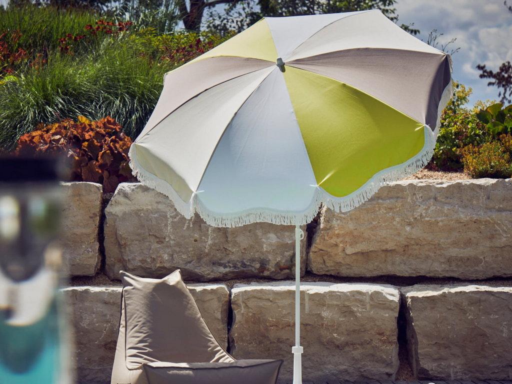 parasol vintage à franges