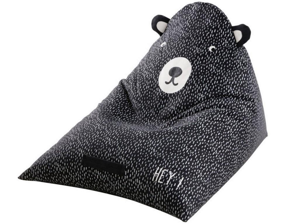 pouf ours enfant
