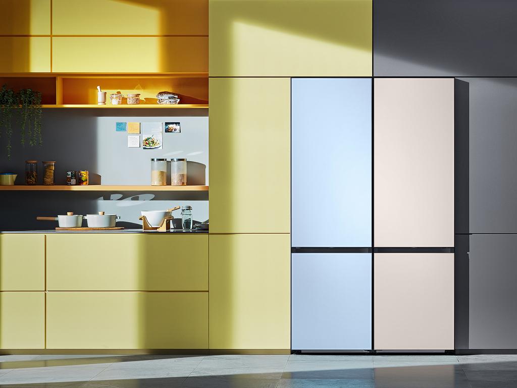 réfrigérateur couleur pastel